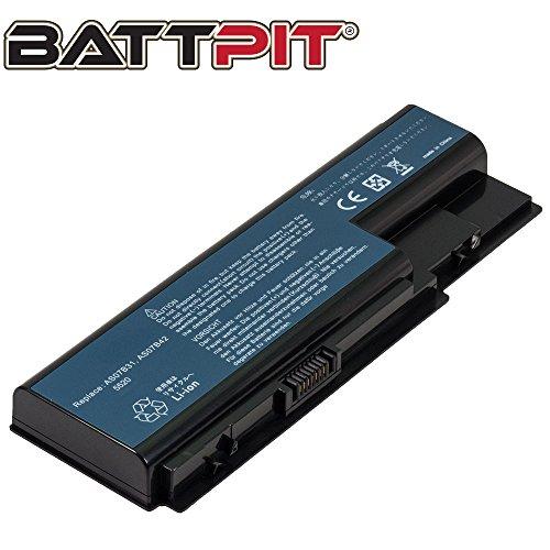 BattPit® Laptop Akku für Acer AS07B41 AS07B31 AS07B61 AS07B71 Aspire 5739G 5920G 5935G 6930 5720 7730 7736G 7736ZG Laptopakku Ersatzakku Batterie [6 Zellen/4400mAh/49Wh]