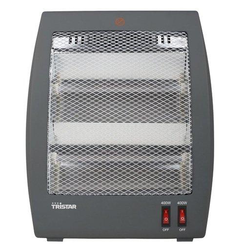 Tristar Elektroheizung mit zwei Leistungsstufen und Kippsicherung [400-800 Watt Leistung, 1,2 Meter Kabelzuleitung] - KA-5011 (Elektrische Infrarot-heizung Terrasse)