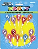 Happy Birthday Candle Set and Holders, 1...