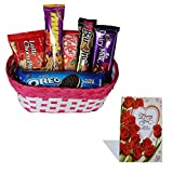 #4: Valentine Chocolate Gift Hamper With Greeting Card 326