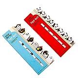 #6: NUOLUX 2PCS Memo Pad Sticky Notepaper Post-it Note Kawaii Cartoon Animal Bamboo Panda Bear Penguin Sticker Office School Supplies