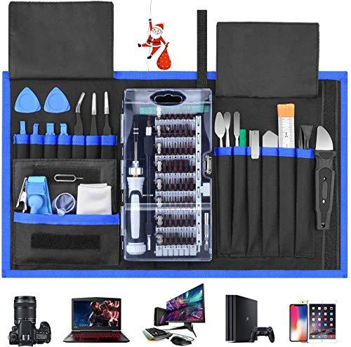 Schraubendreher Set 87 in 1 Magnetischer Präzisions-Schraubendreher-Satz Werkzeug Reparatur-Set für Smartphones Tablets, PCs, Konsolen, Kameras, Uhren, Brillen,Modellbau, Playstation by FUJIWAY