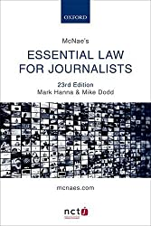 McNae's Essential Law for Journalists by Mark Hanna (2016-06-09)