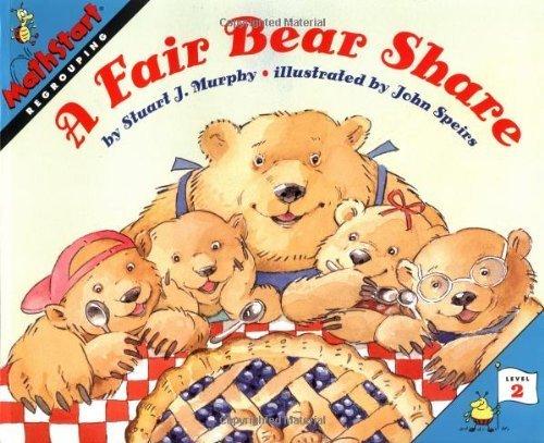A Fair Bear Share (MathStart) by Murphy, Stuart J. (1999) Paperback