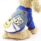 Dragon868 Hund Pullover Warm Frühling und Herbst Hund Haustier Kleidung Warm Fleece Puppy