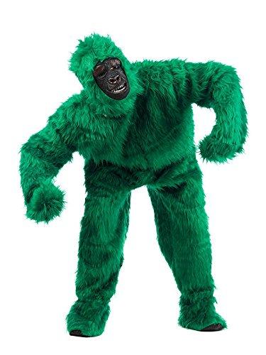 Deluxe Kinder Kostüm Gorilla - Gorilla Deluxe Kostüm grün XL