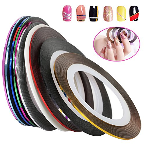TRIXES 10 gammes de colour pour décoration artistique des ongles
