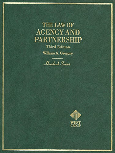 Download law of agency and partnership 3d hornbook series by download law of agency and partnership 3d hornbook series by william gregory pdf malvernweather Gallery