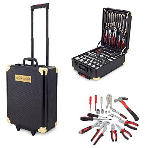 PROFI 256 tlg Werkzeug-Trolley Set Werkzeugkasten Werkzeugkoffer