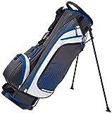 MacGregor Heritage Plus Golf-Trolley-Tasche für Herren 24,1cm  23 cm/9 Zoll grau / blau