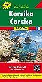 Korsika, Autokarte 1:150.000, Top 10 Tips: Toeristische Wegenkaart 1:150 000 (freytag & berndt Auto + Freizeitkarten)