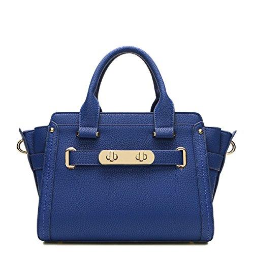 Di Modo Delle Signore Di Grande Capienza Messenger Bag Multi-color Blue