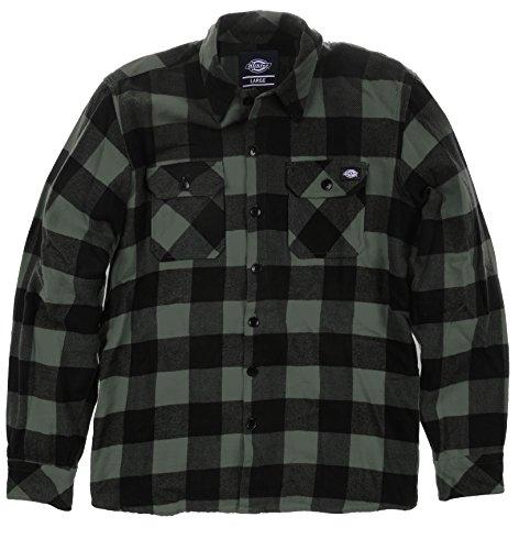 Dickies - Sacramento, Camicia da uomo, multicolore (gravel gray), Large (Taglia produttore: Large)