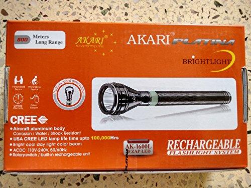 Akari Platina Rechargable Flashlight