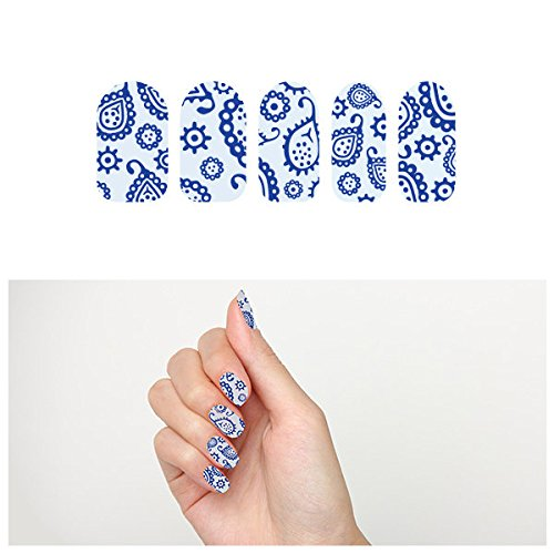 tattify-paisley-nail-wraps-denim-on-denim-set-of-22-by-tattify