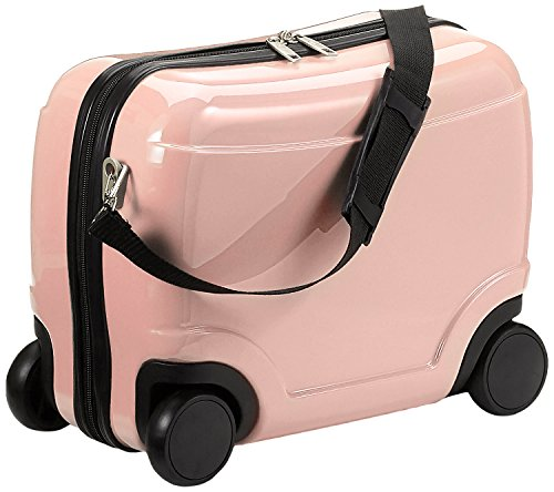HAUPTSTADTKOFFER - For Kids - Kindergepäck, Kinderkoffer, Sitzkoffer, Handgepäck, 23 Liter, Rosa