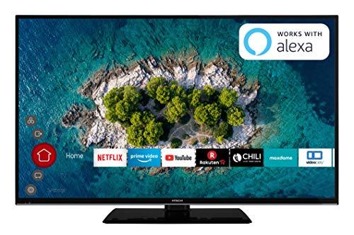 "Hitachi U49K6000 124cm 49"" 4K UHD Smart Fernseher PVR schwarz"