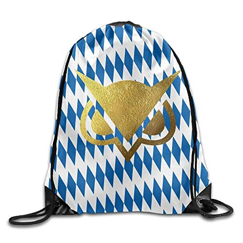 shuangshao liu Gold Owl Gaming Gym Drawstring Tasches Backpack
