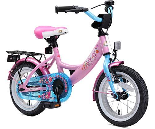 BIKESTAR Kinderfahrrad für Mädchen ab 3-4 Jahre | 12 Zoll Kinderrad Classic | Fahrrad für Kinder Pink & Blau | Risikofrei Testen
