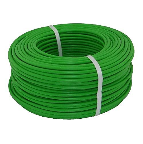 Preisvergleich Produktbild 100m KNX EIB Bus Leitung Kabel grün Y(ST)Y 2X2X0,8