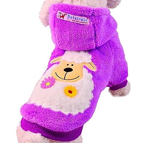 PAWZ Road Hundepullover Hoodie Mantel im Schaf - Design in 5 Farben erh?ltlich