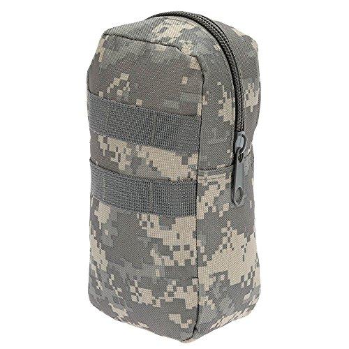 Lixada 50L esterno impermeabile multifunzione militare tattico zaino sport campeggio Escursioni borsa con molle webbings (Nero) Camouflage 5