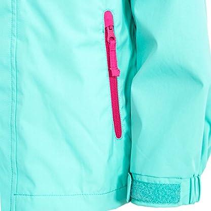Trespass Kids' Lunaria Waterproof Rain/Outdoor Jacket 8