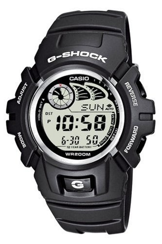 Casio G-Shock Digital Herrenarmbanduhr G-2900F grau, 20 BAR