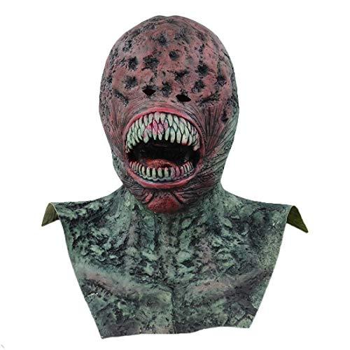 alloween Maske Requisiten Realistische Predator Terror Thriller Streich Scary Demon Parasite Vampire Realista Mascara Maskerade Und Rollenspiele ()
