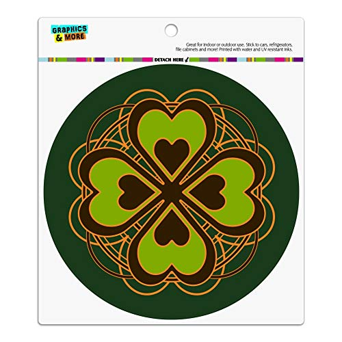 Graphics and More Four Leaf Clover, Auto-Kühlschrank Locker Vinyl mit Magnet -