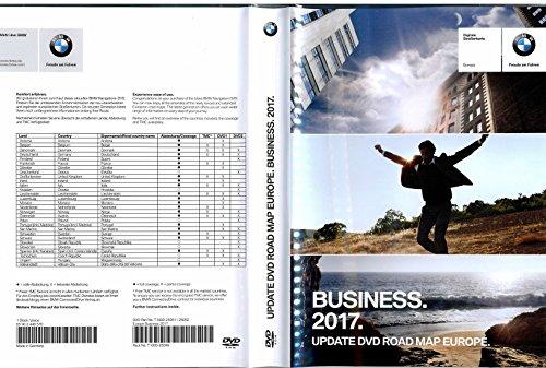 BMW BUSINESS 2017 Navigations 2x DVD Update / Vollversion Road Map EUROPA Teile Nummer: 65902448570