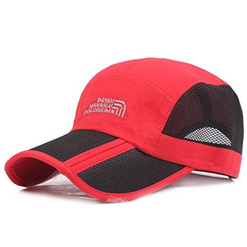 Pahajim sunsoul gorra de béisbol plegable ajustable gorra de béisbol  resistente al agua secado al aire 420157b5ea8
