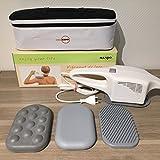 Großflächenmassagegerät Vibramat de Luxe mit 3 Massageaufsätzen von Dr. Kern, Maspo, Eos - Massagegerät mit 2 Jahren Garantie + 12 Monate Garantieverlängerung auf 3 Jahre