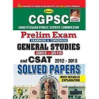 Chhattisgarh PSC English Chapterwise GS & CSAT-E