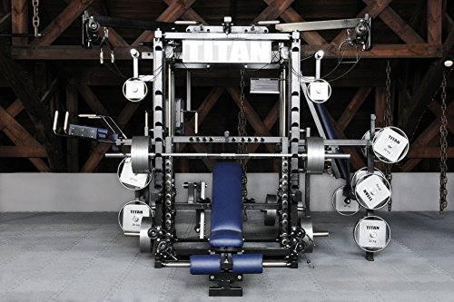 Multi-Gym - TITAN Fitness T3-X Multipresse Kraftstation Kraftmaschine mit Power-Rack