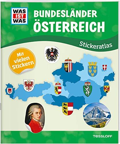 WAS IST WAS Stickeratlas Bundesländer Österreich