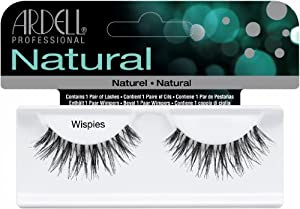 Ardell Invisibands False Eyelashes - Wispies Black (Pack of 4)