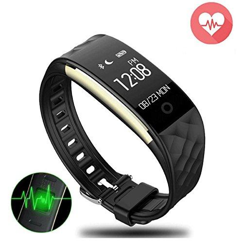 Smartwatch, Fitnessarmband Cardio GPS-Uhr mit Schrittzähler, Tracker D Aktivitäten und Schlaf, Pulsuhr, Armband Smart Touchscreen Wasserdicht für Android und iOS
