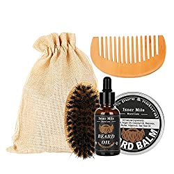 Traje de barba 4Pcs Set Men...