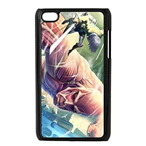 Attack on Titan Poster - Eren Jaeger with the Titan Case Cover for Apple IPod Touch 4