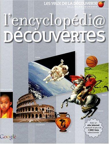 L'encyclopédi@ Découvertes par Simon Adams, Stéphanie Morillon, Andy Catling, Collectif