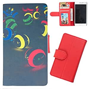 DooDa - For Lenovo A2010 PU Leather Designer Fashionable Fancy Wallet Flip Case Cover Pouch With Card, ID & Cash Slots And Smooth Inner Velvet With Strong Magnetic Lock