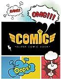 Blank Comic Book: large 8.5 x 11 Creating Comic strips! for Kids: Volume 4 (Comics - Manga books)