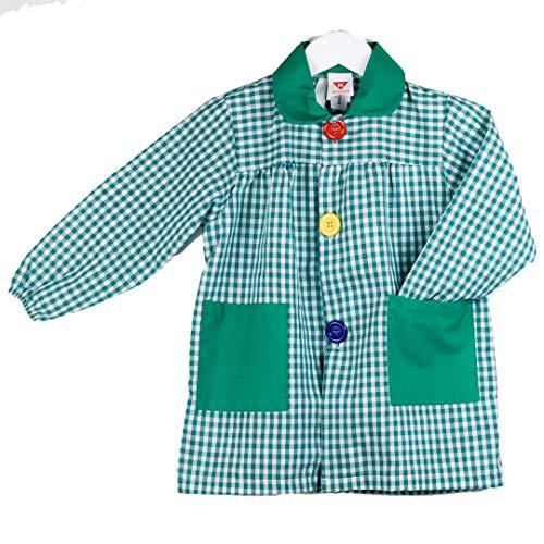 KLOTTZ - BABI CUADROS GUARDERIA niños color: VERDE