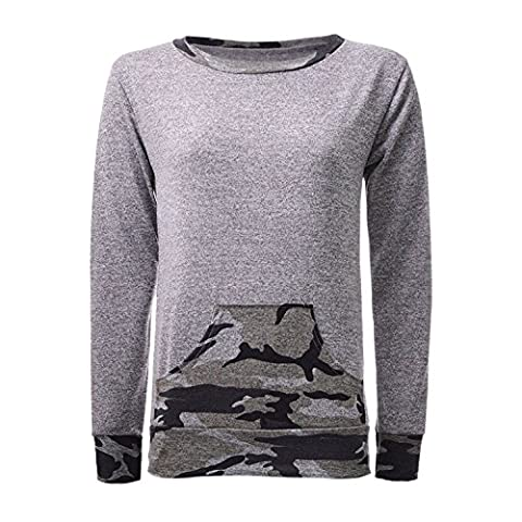 Women Ladies Army Cameo Print Knitted Soft Pocket Tracksuit Set 8-17
