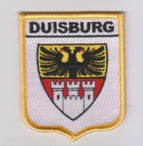 Emblems-Gifts Duisburg Wappen Flagge Germany World Bestickt Patch Badge -