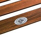 Holz Schwungliege aus Akazienholz von Deuba - 4
