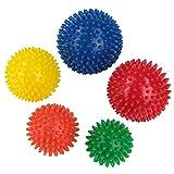 BB Sport balles de massages paquet de 5 balles pointues de différentes tailles et niveaux de dureté