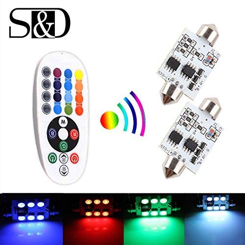 s-d-2-x-41-mm-41-cm-led-leuchtmittel-auto-dome-light-einfach-mit-fernbedienung-colorful-rgb-41