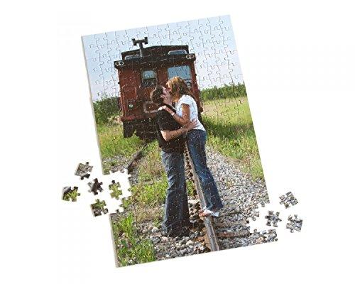PixiPrints Fotopuzzle Selbst Gestalten * A3 A4 Herz * eigenes Foto Personalisiertes Design,...